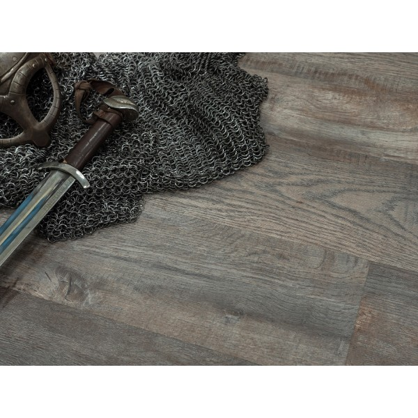 Кварц-виниловая плитка FF-1418, Дуб Этна
