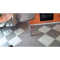 Укладка кварц-виниловой плитки в 1-комнатной квартире на улице Дальней