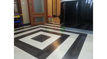 Самостоятельная укладка плитки в трёхкомнатной квартире
