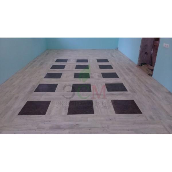 Кварц-виниловая плитка LG Hausys 2261 450х450х3мм