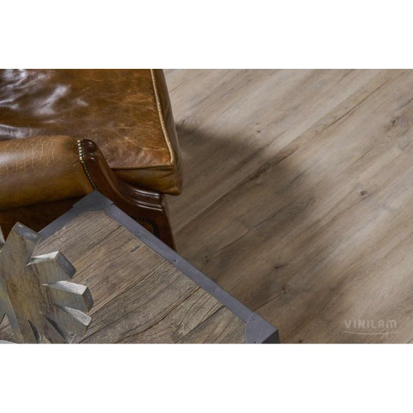 Виниловый ламинат Vinilam 8870-EIR Glue, Дуб Женева