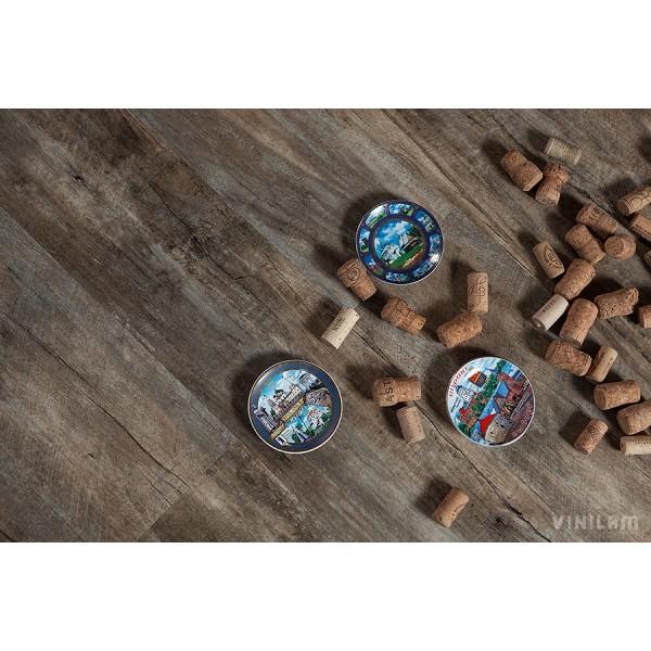 Кварц-виниловый ламинат VINILAM 6161-3 Дуб Потсдам