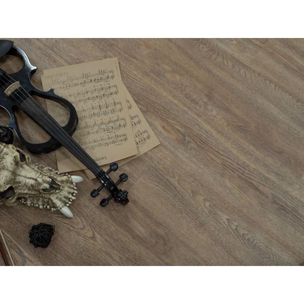Кварц-виниловая плитка FF-1407, Дуб Карлин