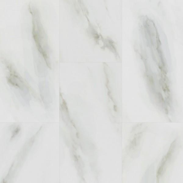Кварцевый ламинат Fargo, Белый Мрамор 6089-1 600x300x4мм